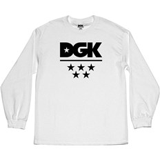 koszulka DGK - All Star L/S Tee White (WHITE)