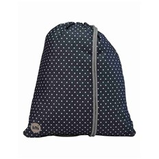 gymsack MI-PAC - Kit Bag Denim Spot Indigo/white (004)