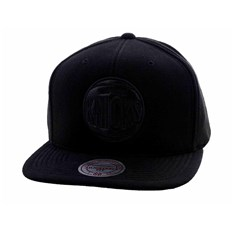 czapka z daszkiem MITCHELL & NESS - Black Out Knicks (KNICKS)