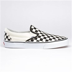 buty VANS - Classic Slip-On Checker/White (BWW)
