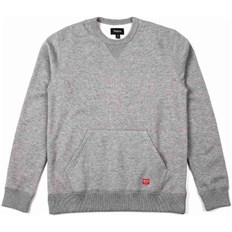 bluza BRIXTON - Hoover Crew Heather Grey 0304 (0304)