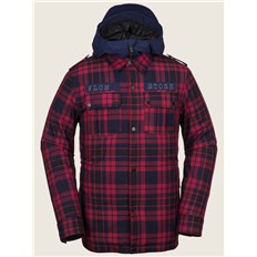 kurtka VOLCOM - Creedle2Stone Jacket Red (RED)