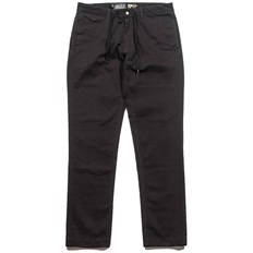 GRIZZLY - grizzly refuge chinos black (BLK)
