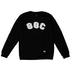 bluza GRIZZLY - Ggc Initials Black (BLK)