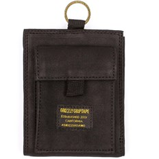 portfel GRIZZLY - Ggc Wallet Black/Black (BKBK)