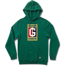 bluza GRIZZLY - Off The Court Hoodie Forest Green (FGRN)