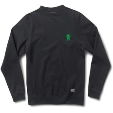 bluza GRIZZLY - Og Bear Emb Crewneck Black/Green (BKGN)