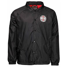 kurtka INDEPENDENT - Truck Co Coach Jacket Black (BLACK)
