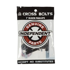 montażówki INDEPENDENT - Genuine Parts Phillips Hardware Black Bx12 Pks/8 (88761)