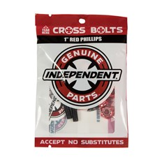 montażowki INDEPENDENT - Genuine Parts Phillips Hardware Black/Red Bx12 Pks/8 (88773)