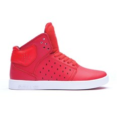 buty SUPRA - Kids Atom Red-White (RED)