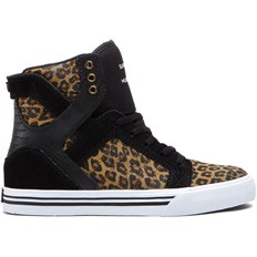 buty SUPRA - Kids-Skytop High Black/Cheetah-White (BCT)