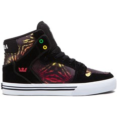 buty SUPRA - Kids Vaider High Black/Multicolor - White (BMU)