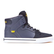 buty SUPRA - Kids Vaider Grey/Black (GBK)