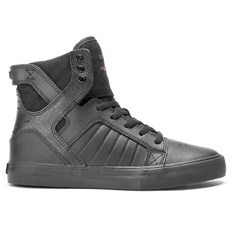 buty SUPRA - Kids Skytop Red Carpet Series-Black (RCS)