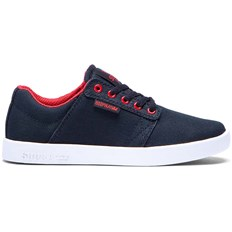 buty SUPRA - Kids Westway Black/Red-White (BKR)