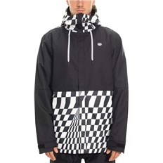 kurtka 686 - Foundation Insulated Jkt Checkers Clrblk (CHKR)