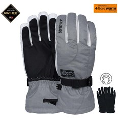 rękawice POW - Ws Crescent Gtx Long Glove Ash (AS)