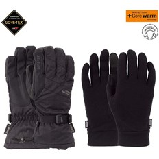 POW - Warner GTX Long Glove + WARM Black (BK)