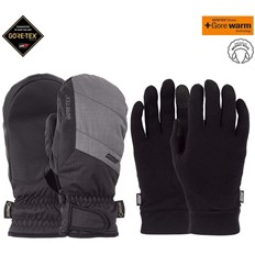 POW - Warner GTX Short Mitt + WARM Charcoal (CH)