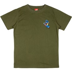 koszulka SANTA CRUZ - Youth Primary Hand T-Shirt Olive (OLIVE)