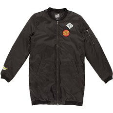 kurtka SANTA CRUZ - Patched Bomber Jacket Black (BLACK)