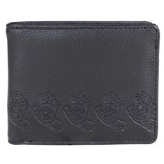 portfel SANTA CRUZ - Screamer Wallet Black (BLACK)