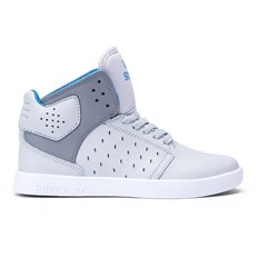 buty SUPRA - Kids Atom Light Grey/Charcoal-White (GCH)