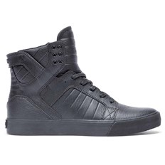 buty SUPRA - Skytop Black/Black-Red (081)