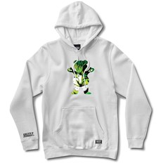 bluza GRIZZLY - Grizzly X Hulk Pull Over White (WHITE)