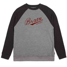 BRIXTON - Fenway Heather Grey/Black (0335)