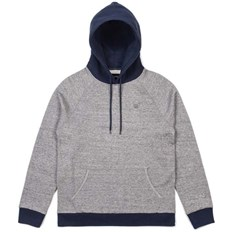 bluza BRIXTON - Huron Heather Grey/Navy (HTGNV)