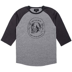koszulka BRIXTON - Tempus Heather Grey/Washed Black (HTGWB)