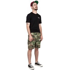 szorty BRIXTON - Transport 20 Cargo Short Multi Camo (MLCAM)