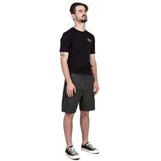 szorty BRIXTON - Transport 20 Cargo Short Washed Black (WABLK)
