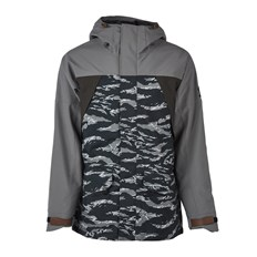 kurtka SESSIONS - Ransack Shell Jacket Black Tiger (BLT)