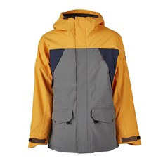 kurtka SESSIONS - Ransack Insulated Jacket Gunmetal (GUN)