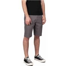 szorty BRIXTON - Toil Ii Hemmed Short Grey (GREY)