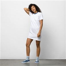 sukienka VANS - Funnier Dress White (WHT)