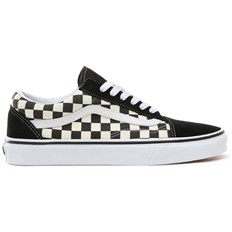 buty VANS - Old Skool (Primary Check) Blk/White (P0S)