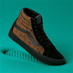 buty VANS - Comfycush Sk8-Hi Reissue (Tiny Cheetah) Black (VWS)