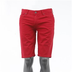szorty FALLEN - Winslow Color Twill Washed Red (WARD)
