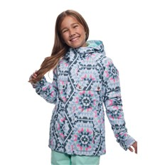 kurtka 686 - Girls Dream Insl Jkt Ice Blue Carousel (ICBL)