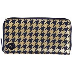 portfel MI-PAC - Zip Purse  Houndstooth Navy/Gold (024)