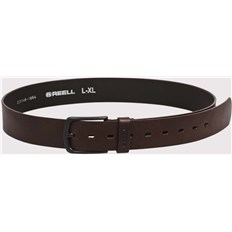 pasek REELL - All Black Buckle Belt Brown (BROWN)