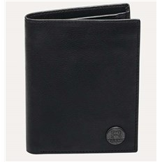 portfel REELL - Clean Leather Black Black (Black )