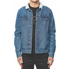 kurtka GLOBE - Stalker Denim Jacket Space Blue (SPCBLU)