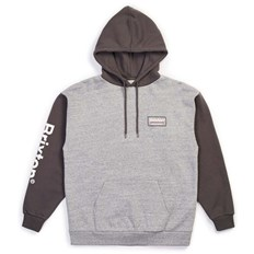 bluza BRIXTON - Palmer Intl Hood Heather Grey-Charcoal (HTGCH)