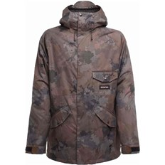 kurtka SESSIONS - Scout Jacket Camo Black (CBK)